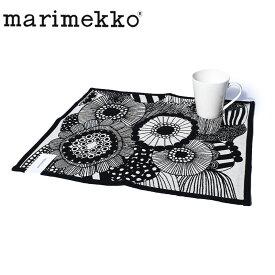 【メール便可】 マリメッコ ランチョンマット プレイスマット MARIMEKKO PLACE MAT インテリア テーブル ホーム ブランド 花柄 北欧 シイルトラプータルハ 黒 白 誕生日 プレゼント ギフト