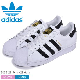 adidas Originals アディダス オリジナルス スニーカー メンズ レディース スーパースター SUPER STAR EG4958 シューズ 靴 ローカット ブランド レザー トレフォイル ロゴ 定番 通学 靴 白