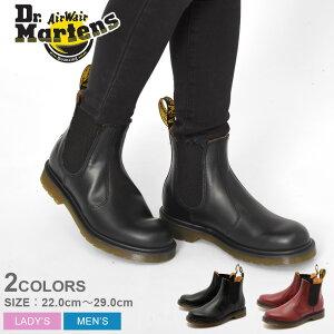 ドクターマーチン サイドゴア ブーツ Dr.Martens 2976 黒 赤 ブラック レッド R11853001 R11853600 CHELSEA BOOT メンズ レディース チェルシー ブーツ 靴 シューズ レザー