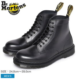 DR.MARTENS ドクターマーチン イギリス製 RIXON 8ホール ブーツ 25304001 メンズ イングランド 英国 靴 マーチン ブランド 天然皮革 革 本革 レザー カジュアル ワークブーツ おしゃれ 黒