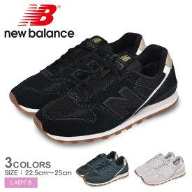ニューバランス スニーカー レディース WL996 NEW BALANCE WL996 おしゃれ シンプル 定番 人気 ランニング シューズ 靴 ブランド ローカット 売れ筋 ブラック 黒 ホワイト 白 ブルー
