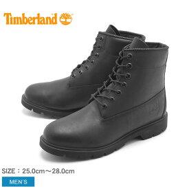 送料無料 ティンバーランド (TIMBERLAND) ブーツ 6インチ ベーシック ブーツ ブラックフルグレイン(10069 6INCH BASIC BOOTS)黒 ウォータープルーフ シューズ 天然皮革 靴メンズ