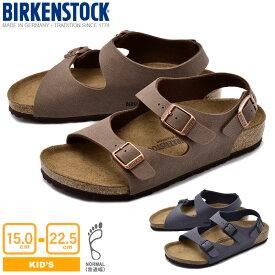 BIRKENSTOCK ビルケンシュトック サンダル 全2色ローマ ROMA0233071 1007940 キッズ&ジュニア(子供用)