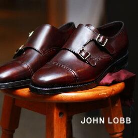 JOHN LOBB ジョンロブ ドレスシューズ ブラウン ウィリアム WILLIAM 228192L 5U メンズ ブランド フォーマル カジュアル ビジネス ベルト オフィス スーツ レザー 紳士靴 革 定番 革靴