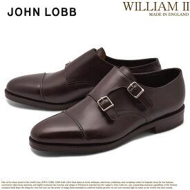 JOHN LOBB ジョンロブ ドレスシューズ ブラウン ウィリアム 2 WILLIAM II 232192L 2Y メンズ ブランド フォーマル カジュアル ビジネス ベルト オフィス スーツ レザー 紳士靴 革 定番 革靴