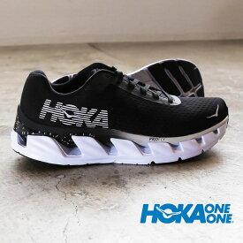 HOKA ONE ONE ホカ オネオネ スニーカー ブラック エレボン ELEVON 1019267 メンズ ローカット シューズ ロードシューズ ランニング 走りやすい 歩きやすい スポーツ スポーティー カジュアル 通勤 通学 学生 部活 靴 黒
