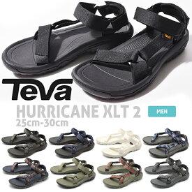 送料無料 TEVA テバ サンダル ハリケーン XLT 2 HURRICANE XLT 2 1019234 メンズ テヴァ アウトドア ストラップサンダル スポーツサンダル ビーチサンダル 軽量 スポサン 黒 白