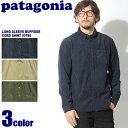 送料無料 PATAGONIA パタゴニア メンズ ロングスリーブ ブラフサイドコードシャツ ネイビーブルー 他全3色MEN's L/S BLUFFSIDE CO...