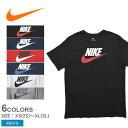 【メール便 送料無料】 NIKE ナイキ Tシャツ メンズ 半袖 フューチュラ アイコン TEE NIKE FUTURA ICON TEE 696707 黒…