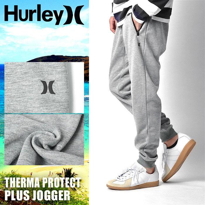 HURLEY ハーレー ジョガーパンツ サーマ プロテクト プラス ジョガー ダークグレーTHERMA PROTECT PLUS JOGGER MFB0000750 06Gウェア ボトムス パンツ スウェット 長ズボンメンズ