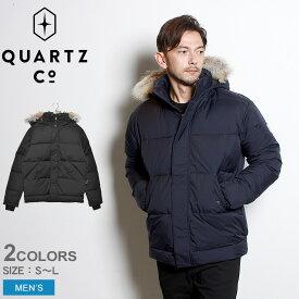 QUARTZ Co. クオーツ コー ダウンジャケット フォークナー FALKNER 39720 メンズ アウター シンプル カジュアル アウトドア レジャー キャンプ ブランド 高級 上着 保温 防寒 黒 紺