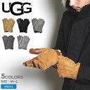 【メール便可】 UGG アグ 手袋 メンズ コントラスト シープスキン テック グローブ M CONTORAST SHEEPSKIN TECH GLOVE…