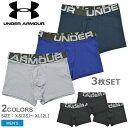 UNDER ARMOUR アンダーアーマー メンズ ボクサーパンツ 3枚セット ローライズ [返品不可] CHARGED COTTON 3 IN 3 PACK…