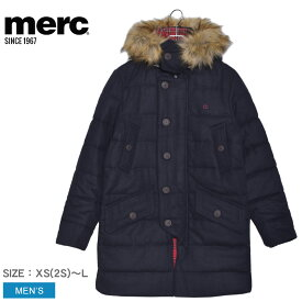 MERC メルクロンドン ジャケット メンズ RALEIGH 1119204 ウェア 上着 羽織り トップス シンプル ベーシック ロゴ ブランド クラシック プレゼント ギフト 刺繍 定番 クラシカル 贈り物 ポケット ボタン ネイビー
