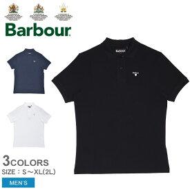 バブアー 半袖ポロシャツ メンズ スポーツ ポロ BARBOUR SPORTS POLO MML0358 トップス 半袖 おしゃれ シンプル クラシカル クラシック カジュアル シンプル ホワイト 白 ネイビー