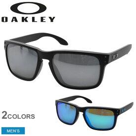 OAKLEY オークリー サングラス ホルブルック HOLBROOK OO9244 メンズ 眼鏡 めがね グラサン スポーツ ゴルフ ブラック 黒 紫外線 保護 おしゃれ 小物