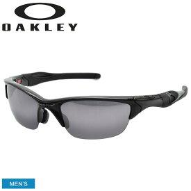 OAKLEY オークリー サングラス HALF JACKET 2.0 ハーフジャケット2.0 OO9153 メンズ 眼鏡 めがね グラサン スポーツ ゴルフ ブラック 黒 紫外線 保護 おしゃれ 小物
