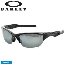OAKLEY オークリー サングラス HALF JACKET 2.0 ハーフジャケット2.0 OO9153 メンズ 眼鏡 めがね グラサン スポーツ ゴルフ ブラック 黒 紫外線 保護 おしゃれ 小物 ゴルフ 釣り ランニング トレーニング 野球 スポーツ