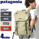 送料無料 PATAGONIA パタゴニア バッグパック アーバーパック 26L ブラック 他全4色ARBOR PACK 26L 47956デイパック リュックサック バッグ 鞄 アウトドアメンズ(男性