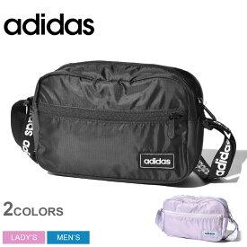 adidas アディダス ショルダーバッグ リニアポーチ GDJ04 メンズ レディース ブランド アウトドア スポーツ スポーティ カバン 軽量 鞄 黒 カジュアル