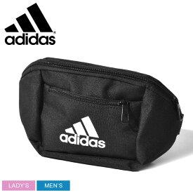 adidas アディダス ボディバッグ ブラック BOS クロスボディバッグ GEC33 メンズ レディース ブランド アウトドア スポーツ スポーティ カバン 軽量 鞄 黒 カジュアル