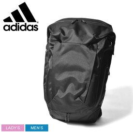 adidas アディダス バックパック ブラック コミューター バックパック TYO COMMUTER BACKPACK TYO FWT51 メンズ レディース ブランド アウトドア リュック リュックサック スポーツ スポーティ カバン 軽量 鞄 カジュアル 黒 機能性 通勤 通学