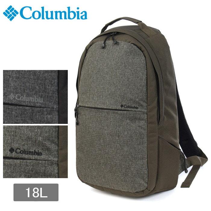 コロンビア COLUMBIA バックパック ジェレミークレストバックパック 18L 全2色(COLUMBIA PU8119 010 213 Jeremy Crest Backpack)リュックサック バック カバン アウトドア 通勤 通学 デイパック バック