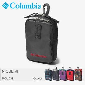 COLUMBIA コロンビア ポーチ 全6色ナイオベVI NIOBE VIPU2012 018 432 433 518 611 944 メンズ レディース
