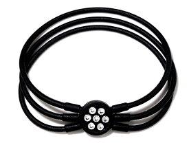 電磁波対策 芸能人・アスリート多数愛用[ZAAP/ザップ]Bracelet ブレスレット BLACK ブラック