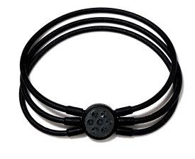 [ZAAP/ザップ]電磁波防止【医療機器健康ブレスレット】Bracelet ブレスレット BLACK ブラック・ブラックスワロ