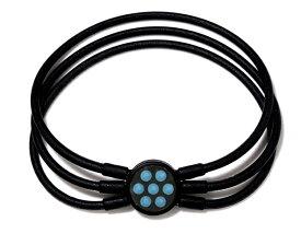 電磁波対策 芸能人・アスリート多数愛用[ZAAP/ザップ]Bracelet ブレスレット BLACK ブラック・サックススワロ