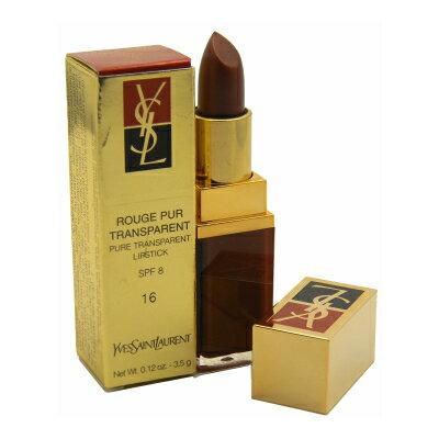 イヴ サンローラン ルージュ ピュア トランスペアレント リップスティック 16 カッパーリーフ【YSL Rouge Pure Transparent Lipstick 16 Copper Leaf 3.5g 0.12oz New In Box】