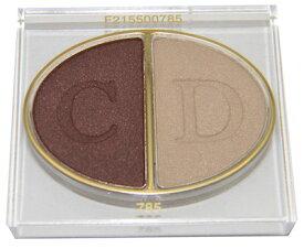 クリスチャン ディオール デュオ クルール カラー アイシャドウ 785 ディオールエバー(テスター 外箱なし)【Christian Dior Duo 2 Couleurs Color Eyeshadow 785 Diorever Tester】