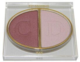 クリスチャン ディオール デュオ クルール カラー アイシャドウ 845 ディオールアート (テスター 外箱なし)【Christian Dior Duo 2 Couleurs Color Eyeshadow 845 Diorart Tester】