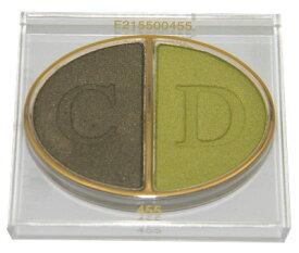 クリスチャン ディオール デュオ クルール アイシャドウ 455 ディオールワイルド(テスター 外箱なし)【Christian Dior 2 Color Couleur Eyeshadow 455 Diorwild Tester】