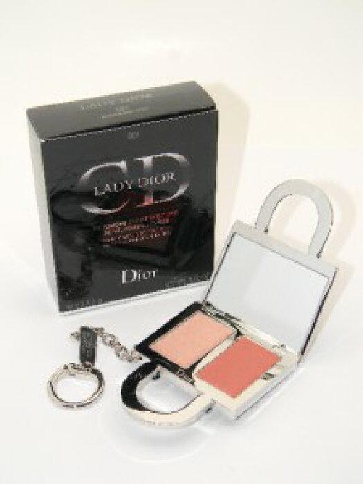 レディーディオール レディエント クチュール タッチアップ フォー フェイス、チーク&リップス 001パリジェンヌチック(外箱難あり)【Lady Dior Radiant Couture Touch-Up For Face, Cheeks, & Lips 001 Parisienne Chic New in Imperfect Box】