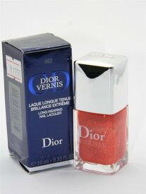 ディオール ヴェルニ ロングウェアリング ネイルラッカー 663 インディアンサフロン(外箱難あり)【Dior Vernis Long-Wearing Nail Lacquer 663 Indian Saffron with Imperfect Box】