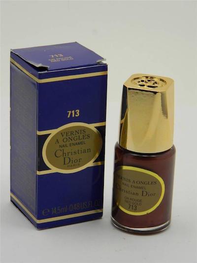 ディオール ヴェルニ ア オングル ネイルエナメル ポリッシュ 713 レッドゴールド【Dior Vernis A Ongles Nail Enamel Polish 713 Red Gold】