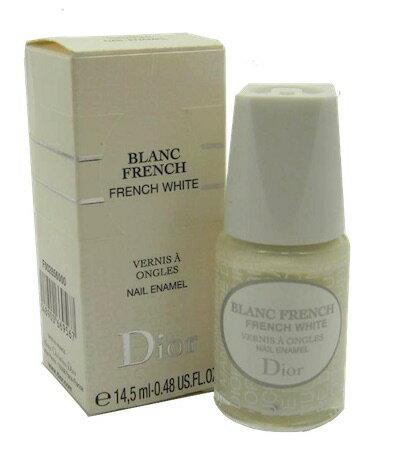 ディオール ブランク フレンチホワイト ネイルエナメルポーリッシュ【Dior Blanc French White Nail Enamel Polish New In Box】
