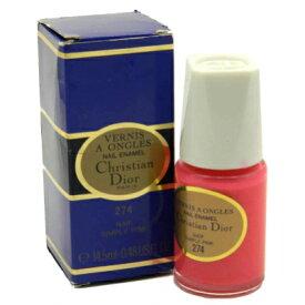 ディオール ヴェルニ ア オングル ネイルエナメル ポリッシュ 274 ナイーフ シンプリーピンク(外箱不良)【Dior Vernis A Ongles Nail Enamel Polish 274 Naif Simply Pink in Imperfect Box】
