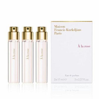 メゾン フランシス クルジャン ア ラ ローズ オードパルファン トラベルスプレー レフィル 3x11ml【Maison Francis Kurkdjian A La Rose EDP Travel Spray Refill 3x11ml】