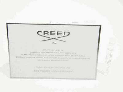 クリード シルバー マウンテン ウォーター お試しチューブサンプル 2.5ml【Creed Silver Mountain Water Vial Sample 2.5ml New With Card】