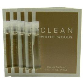 クリーン ホワイト ウッド オードパルファン お試しチューブサンプル 5個セット 5x1ml【Clean White Woods EDP Vial Sample 5x1ml】