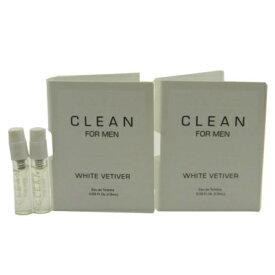 クリーン ホワイト ベチバー オードトワレ お試しチューブサンプル 2個セット 2x1.5ml【Clean White Vetiver for Men EDT Vial Sample 2x1.5ml】