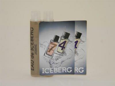 オー デ アイスバーグ ジャスミン プール フェム オードトワレ お試しチューブサンプル 2個セット 2x1.2ml【Eau De Iceberg Jasmin EDT Pour Femme 1,2ml Vial Sample (Lot of 2)】