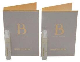 ブシュロン ビーデブシュロン オードパルファン お試しチューブサンプル 2個セット 2x1.2ml【Boucheron B de Boucheron EDP Vial Sample 1.2ml (Lot of 2)】
