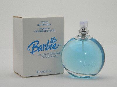 バービー オードトワレ スプレー ブルー 75ml(テスター・キャップなし)【Barbie Eau de Toilette EDT Spray Blue 75ml New Tester】