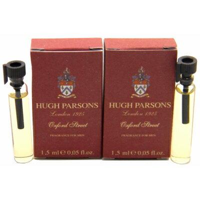 ヒュー パーソンズ オックスフォード ストリート フレグランス フォー メン お試しチューブサンプル 2x2ml【Hugh Parsons Oxford Street Fragrance for Men Vial Sample 2x2ml】