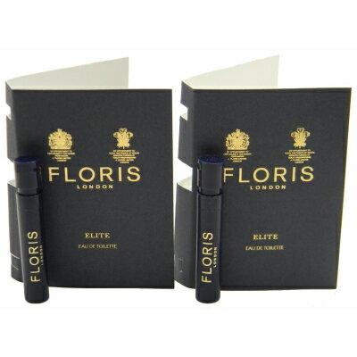 フローリス エリート オードトワレ お試しチューブサンプル 2x1.2ml【FLORIS Elite EDT Vial Sample 2x1.2ml(Lot of 2)】