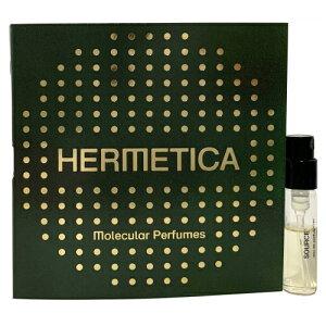 エルメティカ ソース 1 オードパルファン お試しチューブサンプル 1.5ml【Hermetica source1EDP Vial Sample 1.5ml】